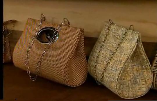 una tecnica antigua de confeccion de carteras o bolsos es la tecnica