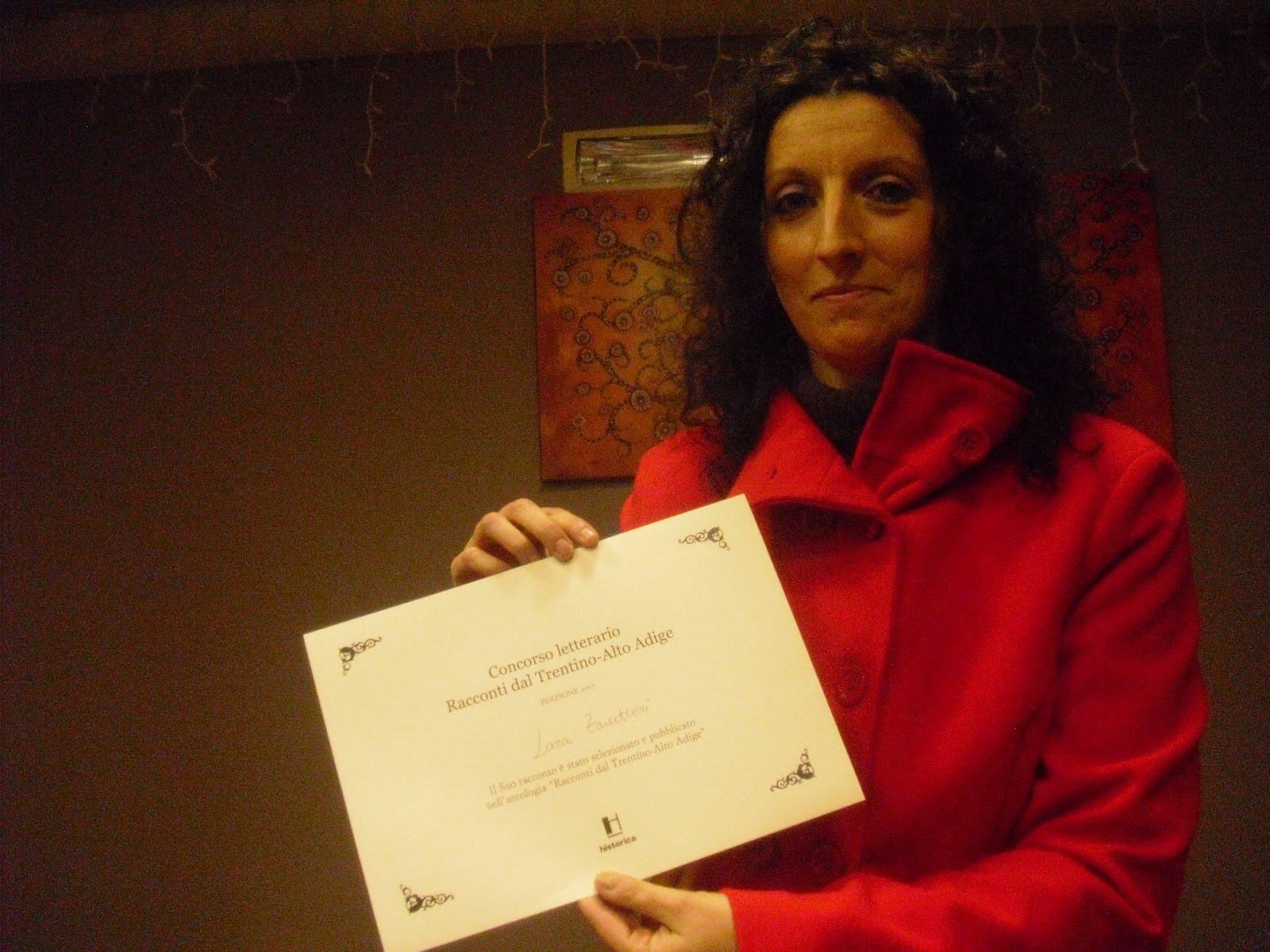 Io alla premiazione casa editrice Historica