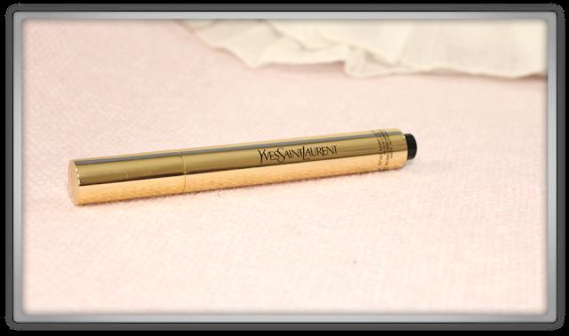 Yves Saint Laurent Touche Éclat 02 Luminous Ivory haul review high end concealer beauty blogger blog ysl