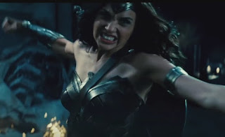 Wonder Woman fights who in Batman v Superman