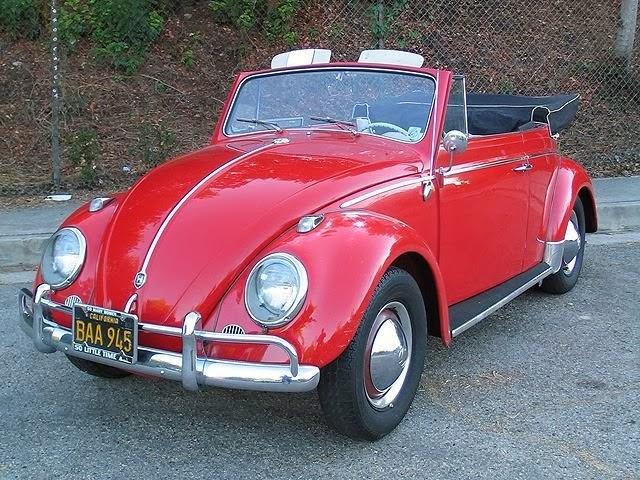 Volkswagen escarabajo convertible o tipo 15