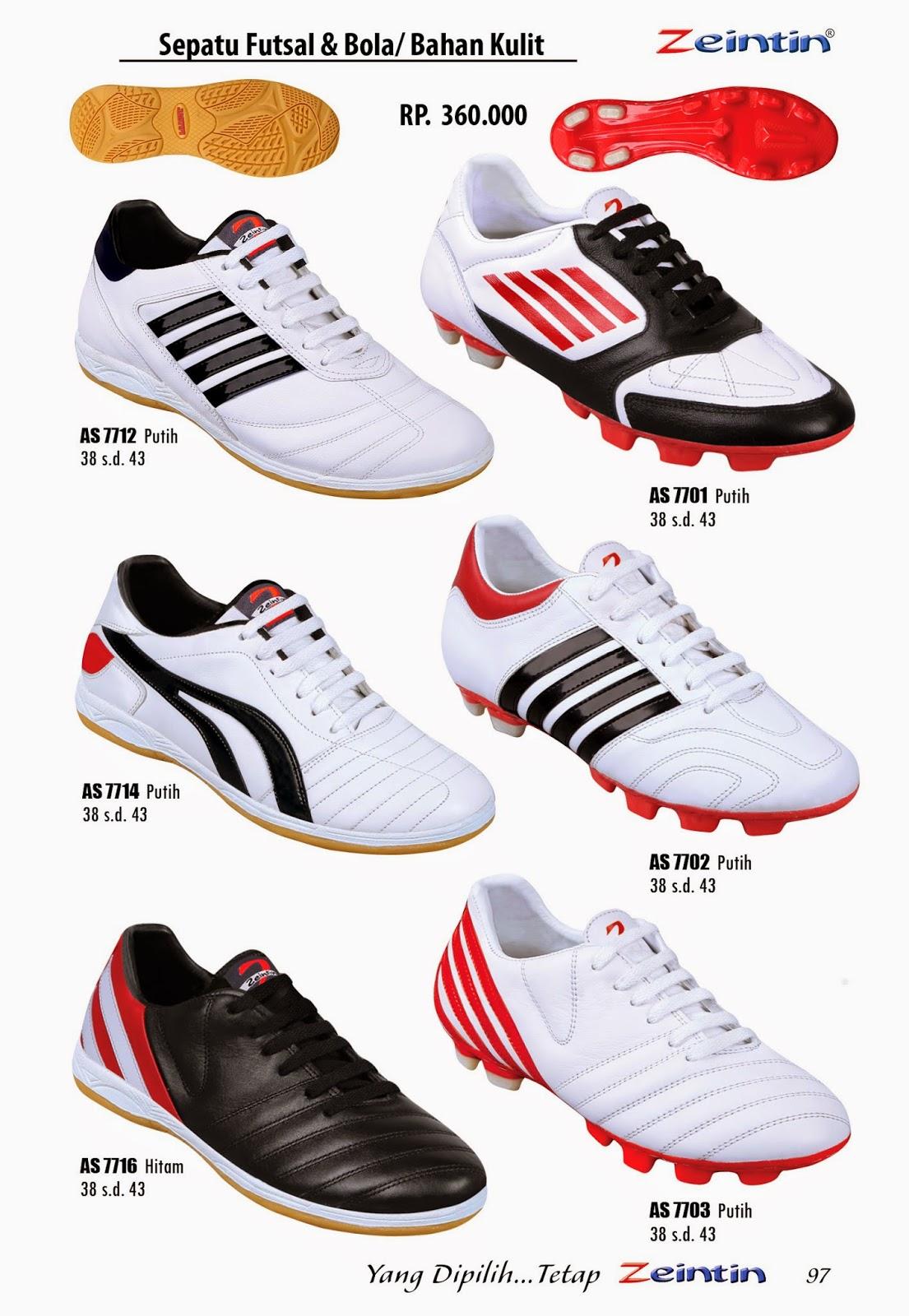 Sepatu Futsal Zeintin, Edisi Katalog Brilian 11