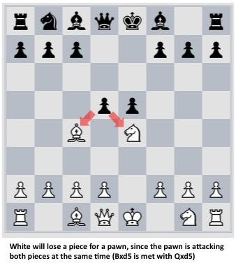 chess double attack