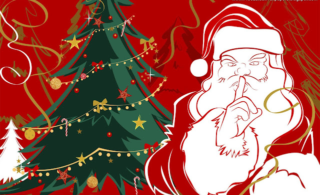 Christmas 2012 - Free Santa Claus HD Wallpapers for iPhone 5