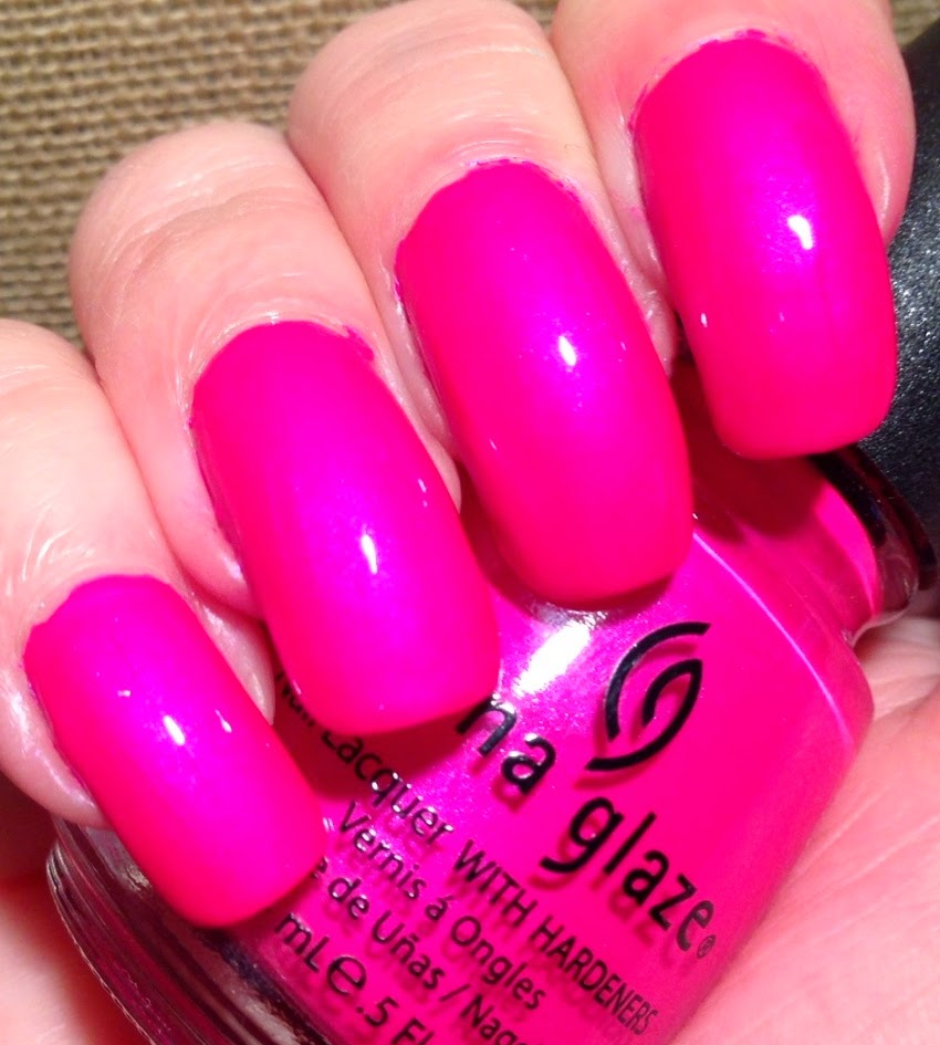 Little Miss Nailpolish Throwback Thursday China Glaze Purple Panic Neon Swatches And Review