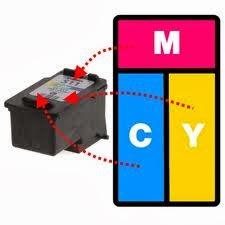 Cara mengisi catridge warna pada printer jenis canon secara benar