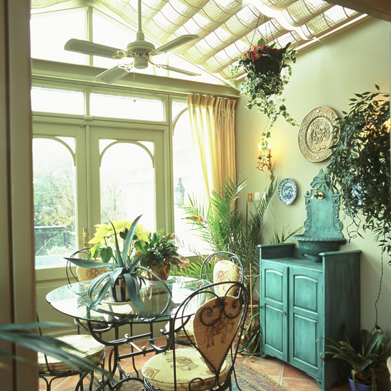 New home interior design the best 10 of traditional for Conservatory dining room design ideas