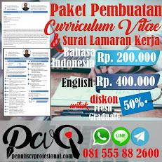 Paket Curriculum Vitae & Cover Letter