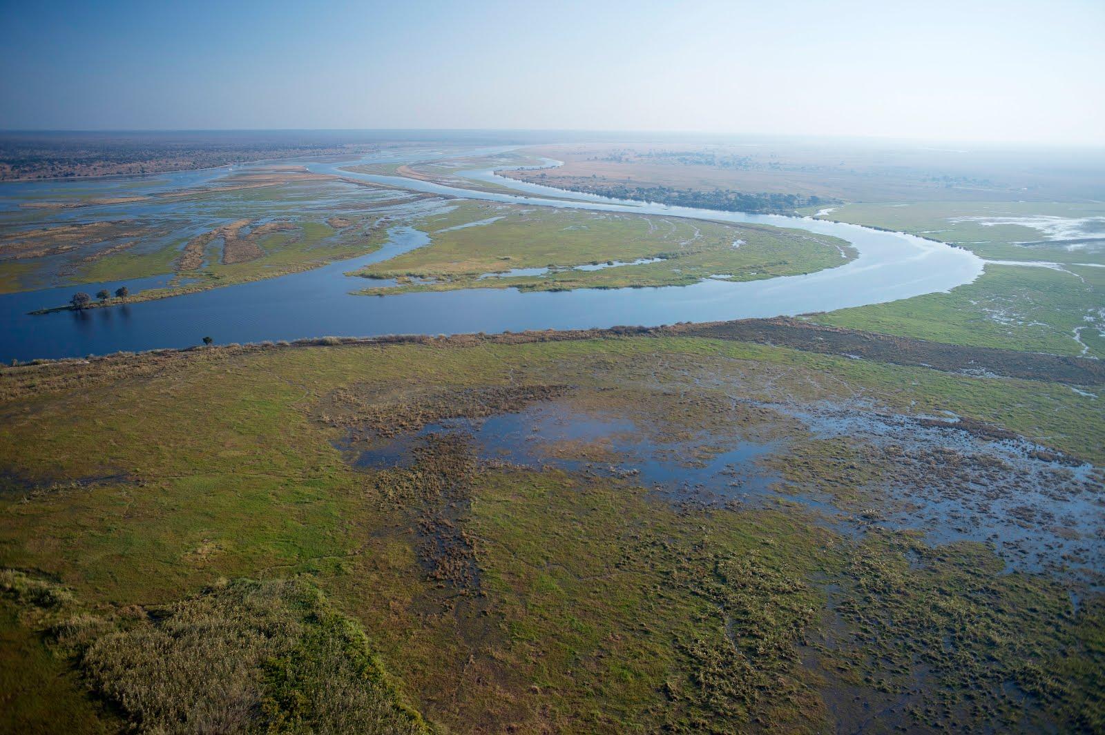 Project study site Chobe Botswana