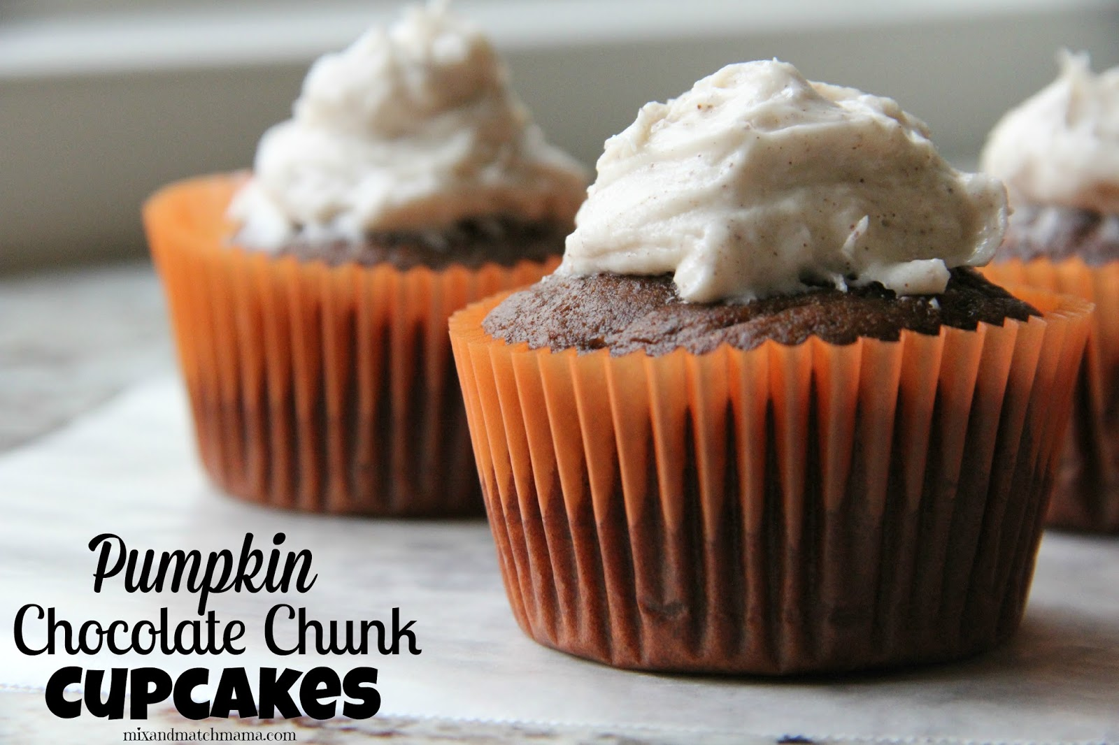 Pumpkin and chocolate together is one of my very favorite combinations ...