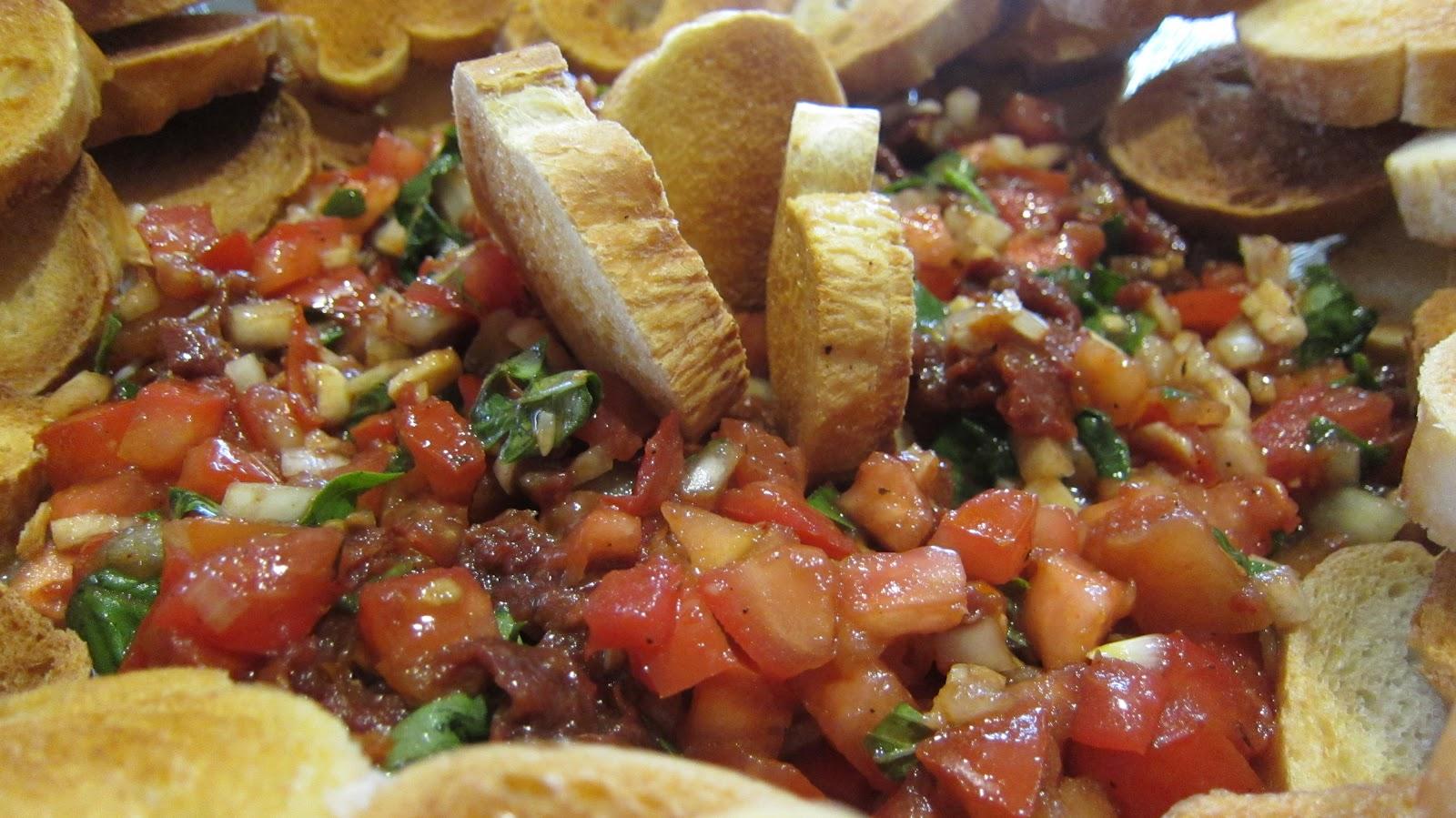 Mary's Kitchen Diaries: Balsamic Double Tomato Bruschetta
