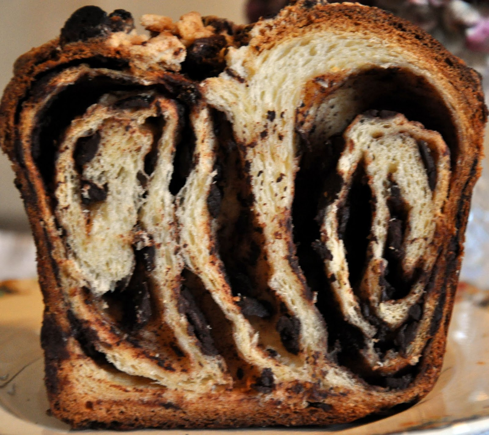 Chocolate Bread....Better than Club Med's!