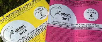 Gabarito Oficial do Enem 2013