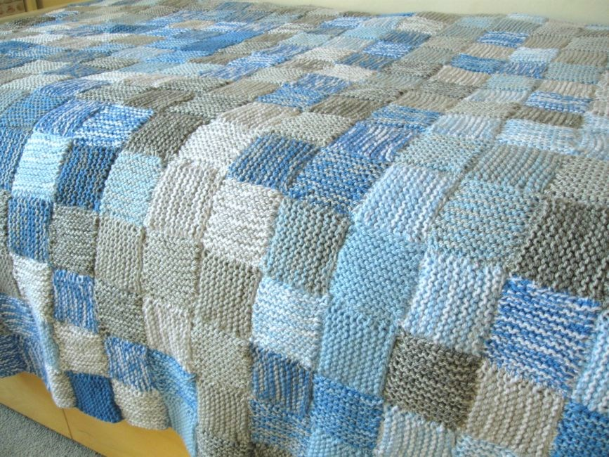 Bugs and Fishes by Lupin: How To Knit a Sky Blanket : knitted quilt squares - Adamdwight.com