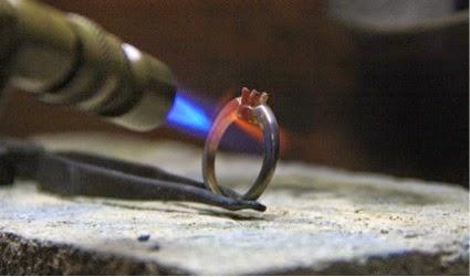 soldando anillo