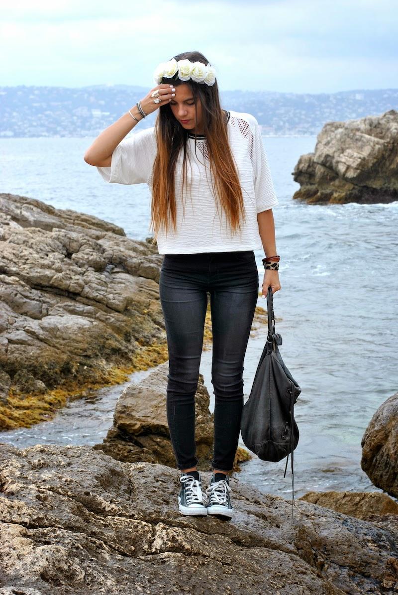 Slim Taille Haute H&m H&m Top Bershka Slim