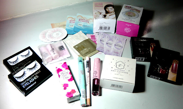 Korean Cosmetics Haul, Etude House, The Face Shop