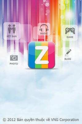 Zing Me cho iphone - phan mem cho iphone