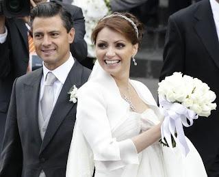 Foto del Matrimonio de Angelica Rivera y Enrique Peña