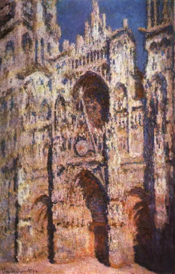 "Picture of ""Rouen Cathedral"" by Claude Monet, 1894"