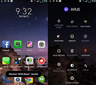 APUS Launcher Small Fast Boost v1.9.12 Apk