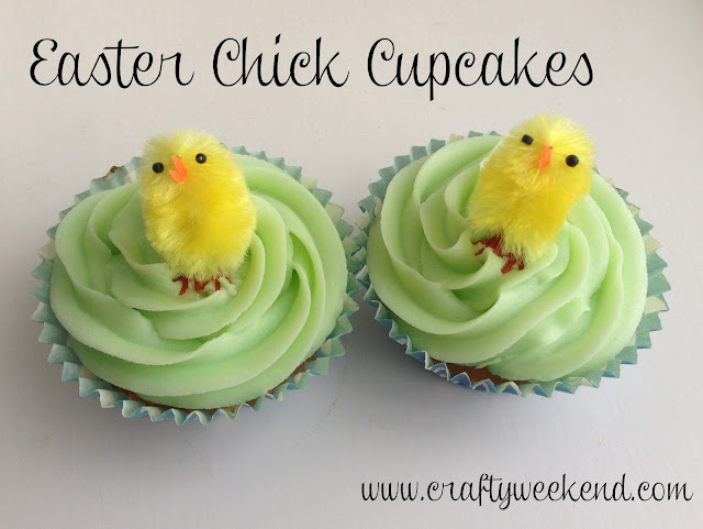 homemade easter gift, easter cupcakes