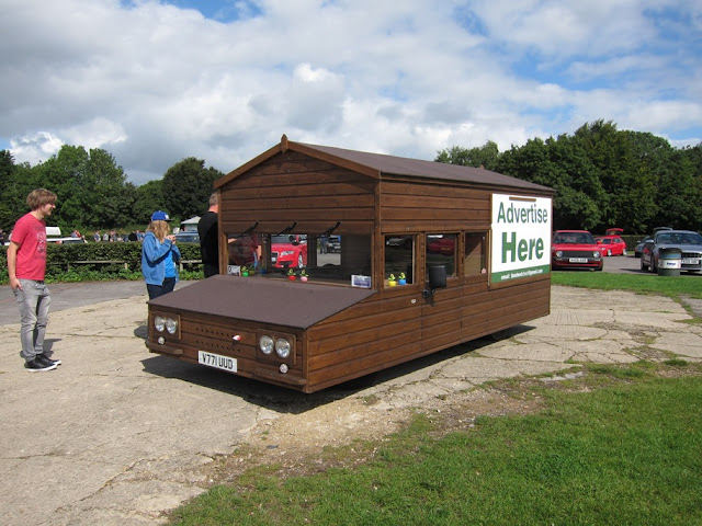 Possibly the fastest shed in the world at Castle Combe recently