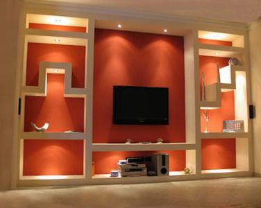 Centro de innovaci n inmobiliario tu pared hecho realidad for Figuras en drywall para cocinas