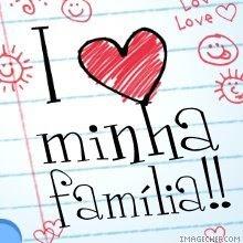 Eu amo minha familia *