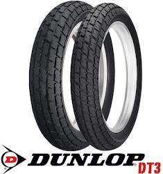 RACE PROVEN: US DUNLOP DT3 FLATTRACK TIRE