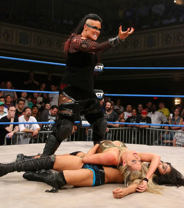 Havok-Jessicka Havok-TNA-Taryn Terrell-Gail Kim