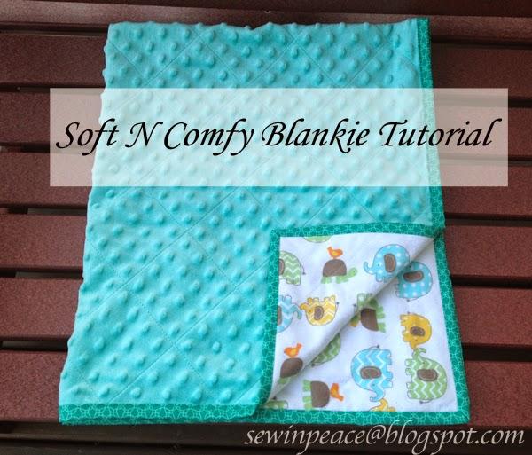Sew In Peace Soft N Comfy Blankie Tutorial
