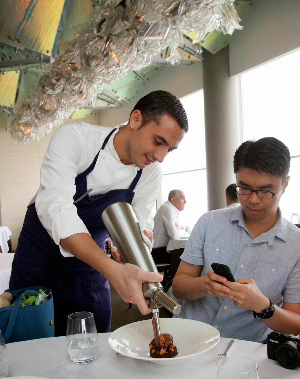 Jaan Lunch At Swissotel The Stamford Autumnwinter Menu Celebrates