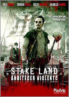 Filme Poster Stake Land - Anoitecer Violento DVDRip XviD Dual Audio & RMVB Dublado