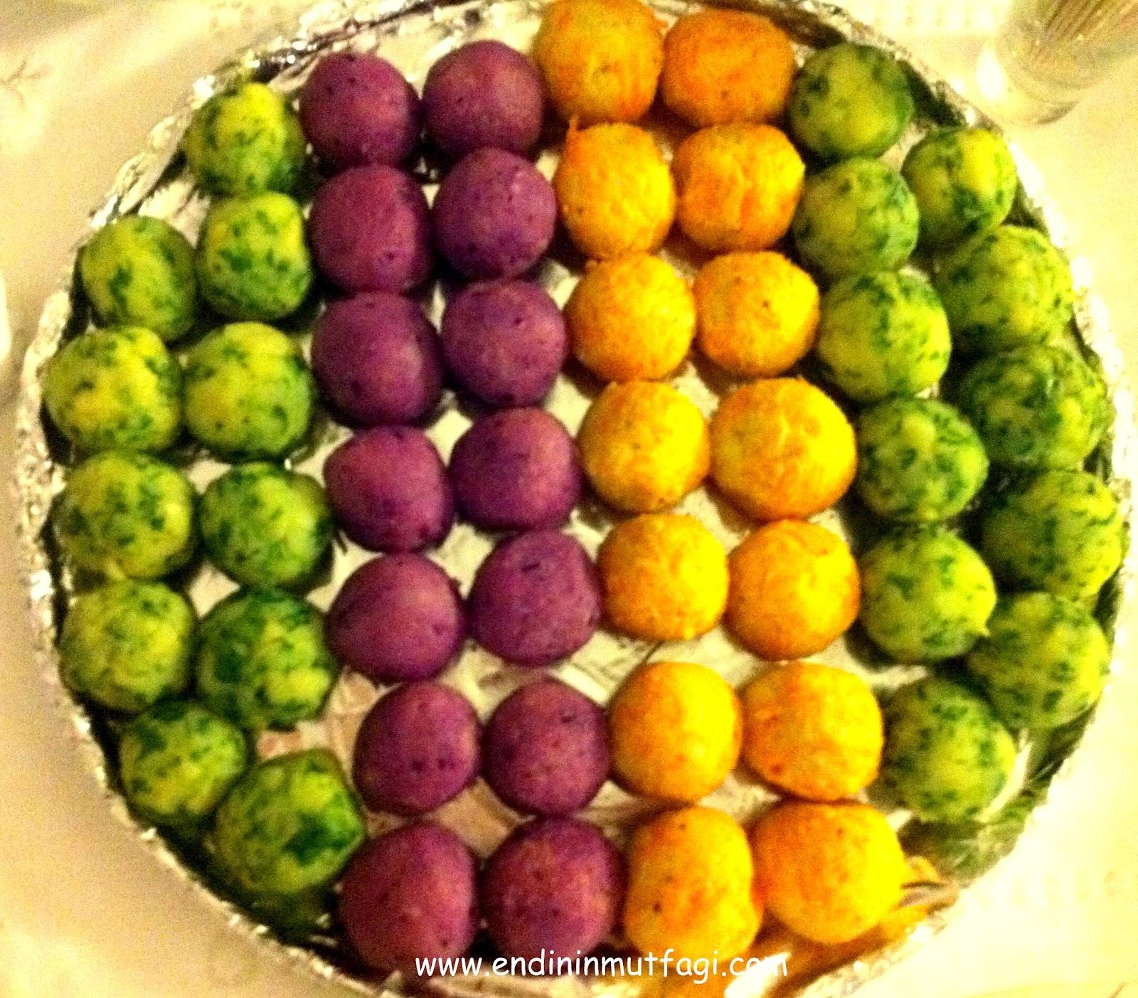 Sebzeli Top Patates Tarifi