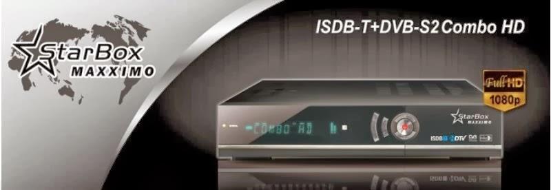 STARBOX MAXXIMO HD COMBO – V1.96 NOVA ATUALIZAÇÃO - 11.01.2014