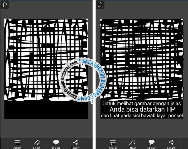 Cara Mudah Tutorial Edit Font Ilusion Dengan PicSay