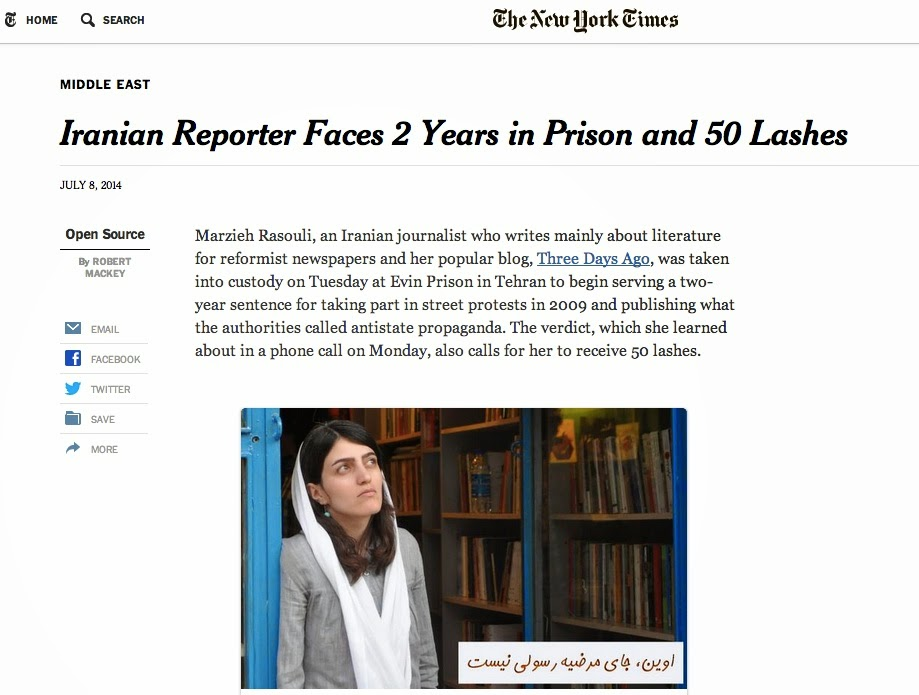 http://www.nytimes.com/2014/07/09/world/middleeast/iranian-arts-reporter-faces-2-years-in-prison-and-50-lashes.html