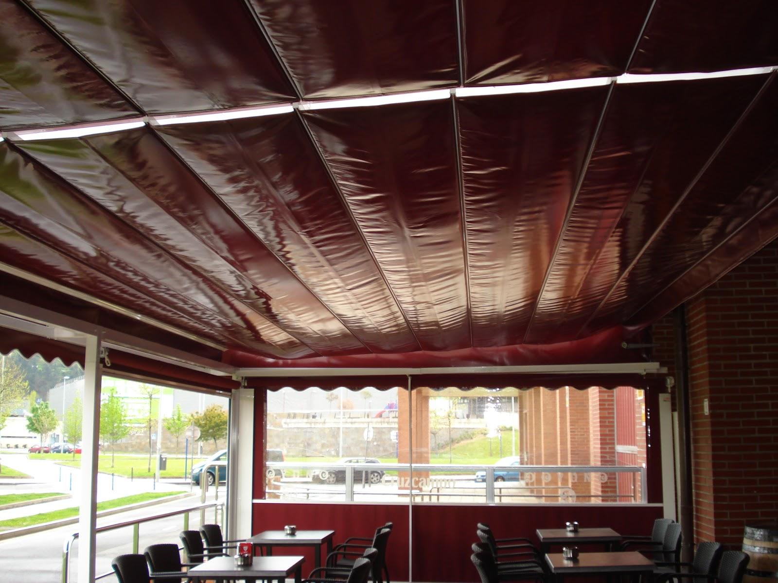 Terrazas climatizadas para hosteleria terrazas toldos - Toldos terrazas bares ...