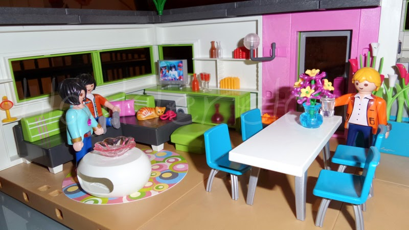 Playmobil maison moderne solutions pour la d coration for Salle a manger playmobil
