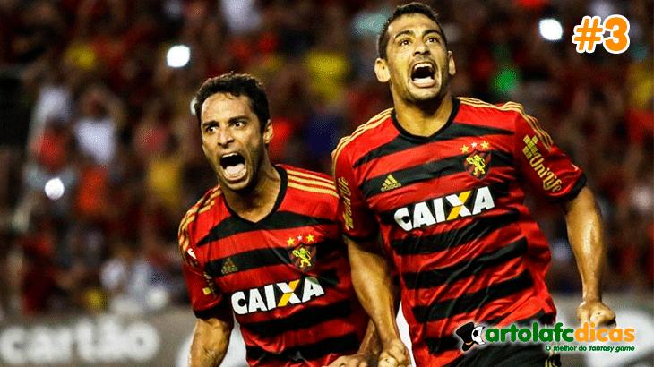 O Sport e o Diego Sousa são destaques do Cartola fc 2015