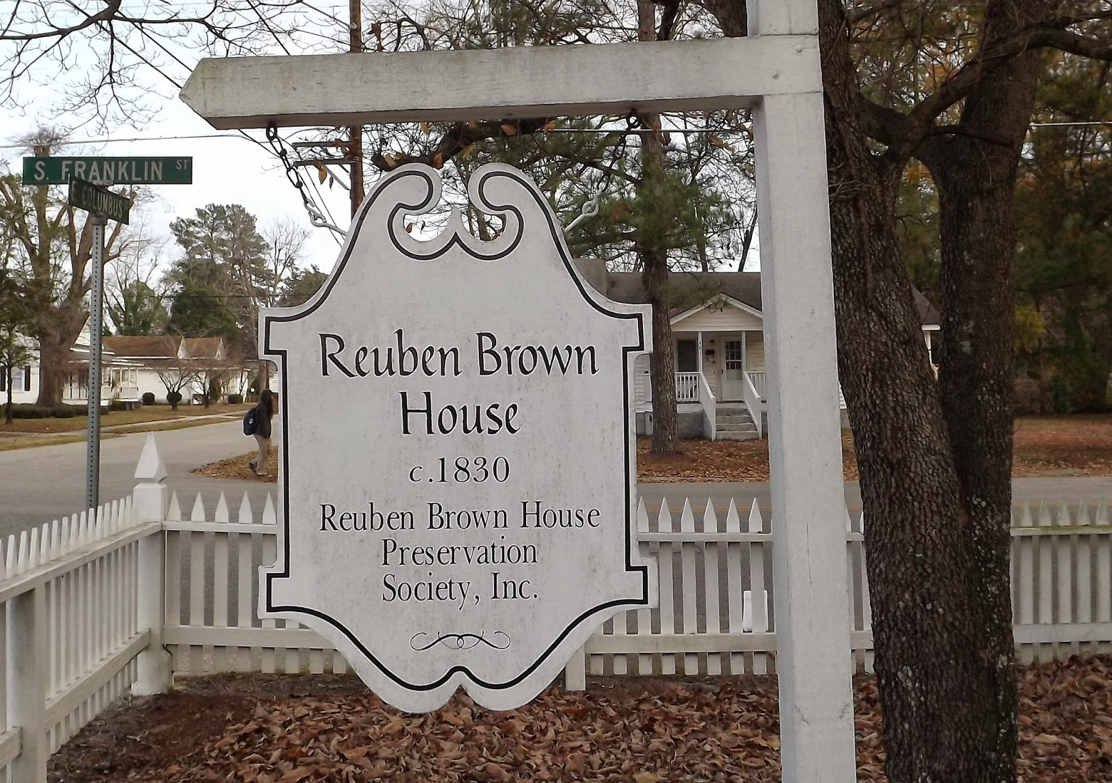 The Reuben Brown House, Whiteville, NC