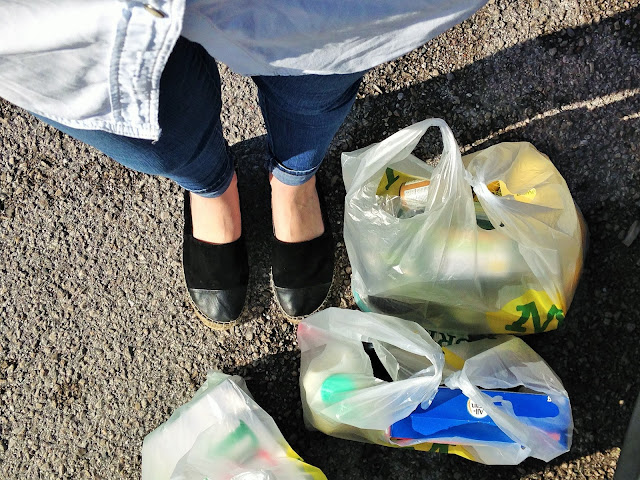 Food Shopping at Morrisons