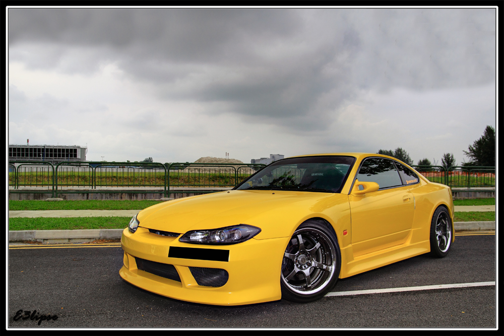 Nissan Silvia S15 日本車 日産 japoński sportowy samochód coupe
