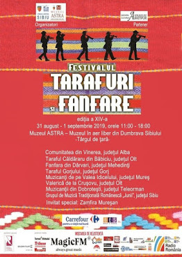 Tarafuri și Fanfare, ed. a XIV-a, 31 august - 1 septembrie 2019