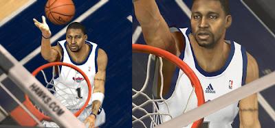 NBA 2K13 Tracy McGrady Cyber Face Patch