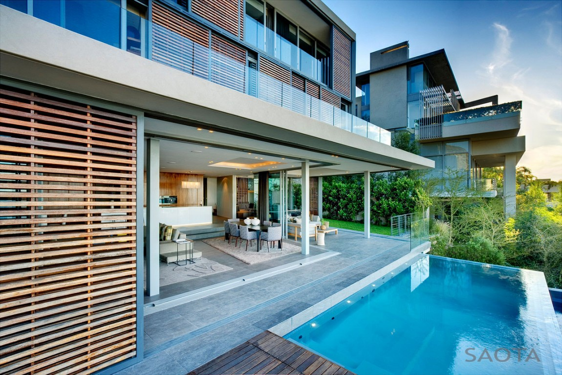 World of architecture beautiful head road 1816 house by saota for Beach house design cape town