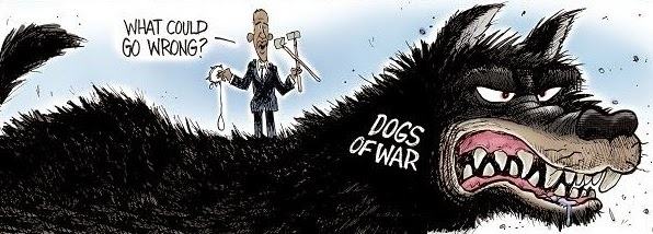 Joe Heller: The Dogs of War.