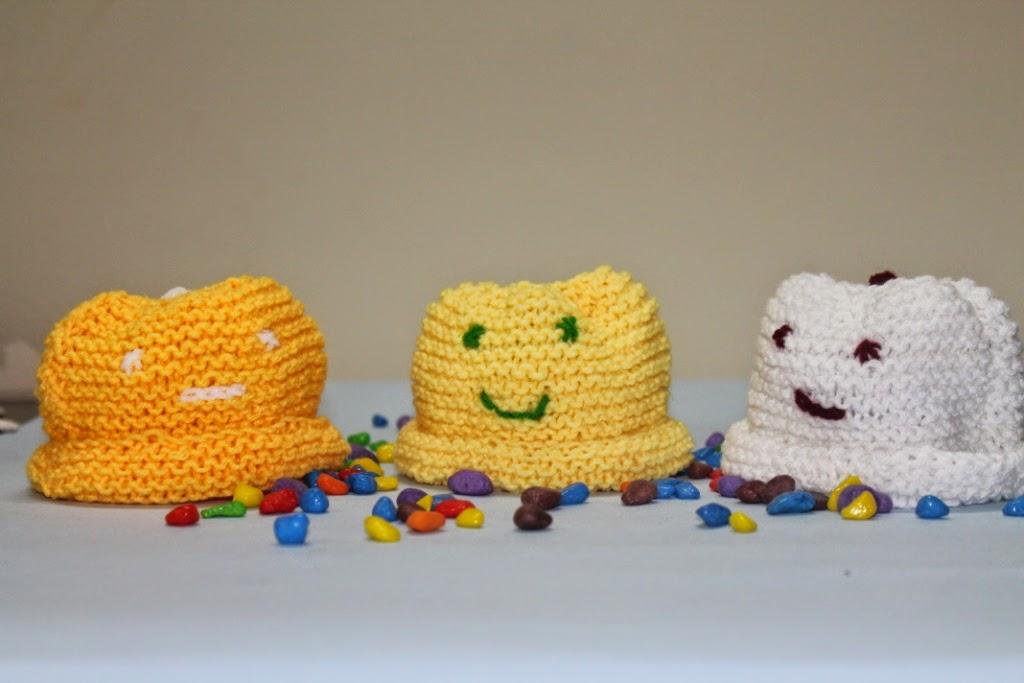 Decrease Knitting Garter Stitch : Knit n Purl Ocean: Knitted Baby Hats