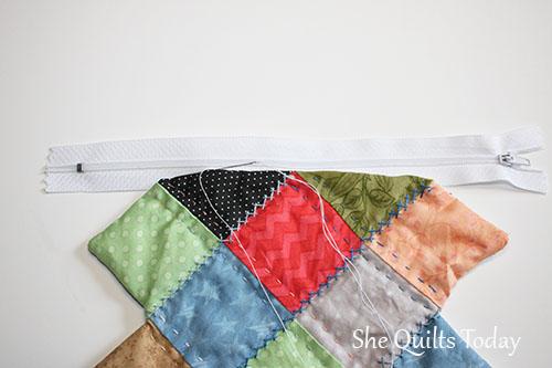 Como hacer una bolsa acolchada tutorial